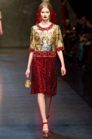 Dolce and Gabbana Fall 2013 RTW collection67.JPG