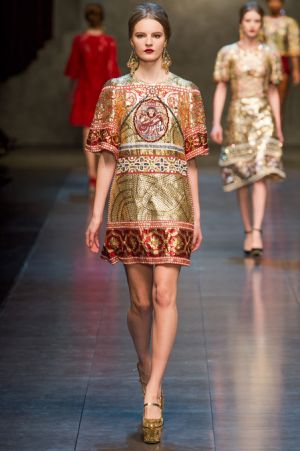 Dolce and Gabbana Fall 2013 RTW collection68.JPG