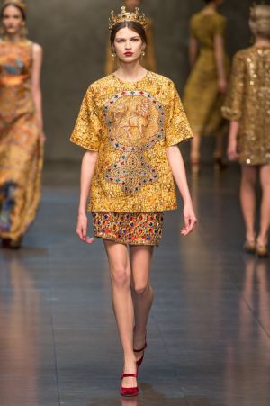 Dolce and Gabbana Fall 2013 RTW collection7.JPG