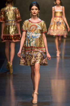 Dolce and Gabbana Fall 2013 RTW collection71.JPG