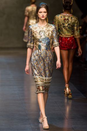 Dolce and Gabbana Fall 2013 RTW collection73.JPG