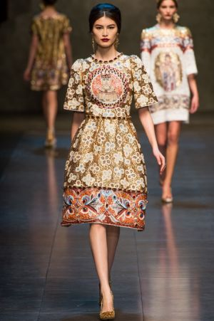 Dolce and Gabbana Fall 2013 RTW collection74.JPG