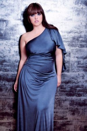 Curvy girls Luscious blog - Denise Bidot evening dress.jpg