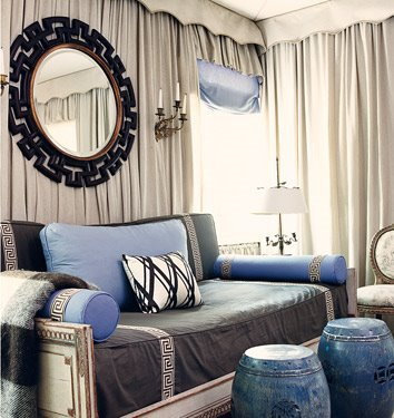 Luscious style boudoirs walk in wardrobes closets for Celebrity dressing room mirror