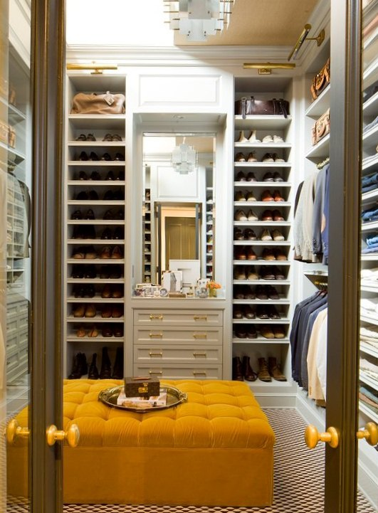 Luscious style boudoirs walk in wardrobes closets for Design your own closet