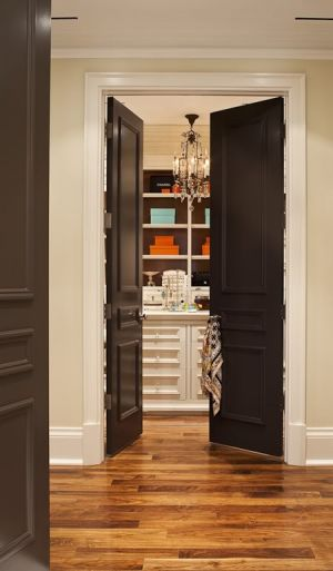 Dressing room ideas - Black Doors via House and Home (2).jpg