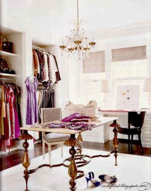 Dressing room ideas - closet-with-table.jpg
