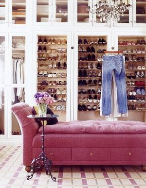 luscious style: boudoirs, walk-in wardrobes, closets, dressing