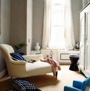 Shoe closet inspiration - domino-magazine_chaise-with-blue1.jpg