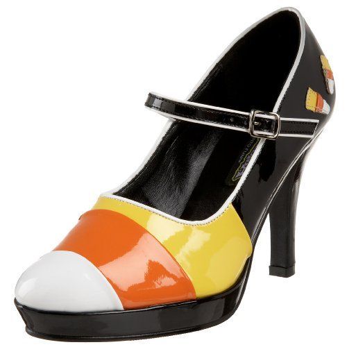 Funtasma by Pleaser Womens Contessa shoes - yellow orange white black.jpg
