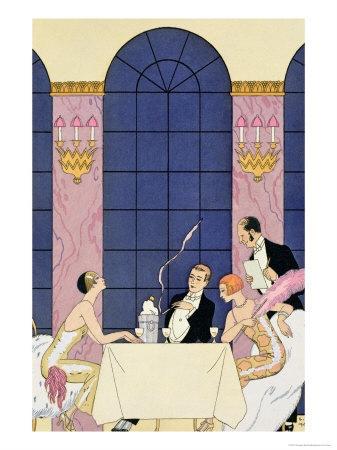 Luscious Loves Art Deco Illustration