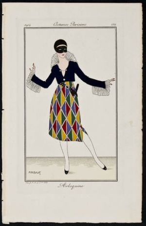 Art deco fashion posters and fonts - 1920s fashion illustration.jpg