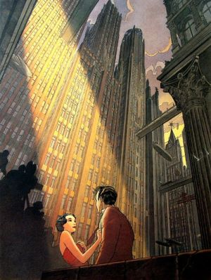 Art deco style - The Book Palace Francois Schuiten Art pictures.jpg