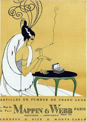 Art deco style - myLusciousLife blog - Deco Flapper Smoking -Mappin and Webb.jpg
