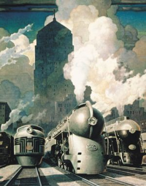 Art deco style - myLusciousLife blog - New York Central System Kunstdrucke.jpg