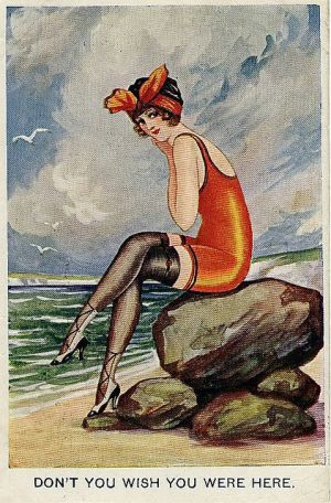 Art deco style - myLusciousLife blog - Seaside Postcard 1919.jpg