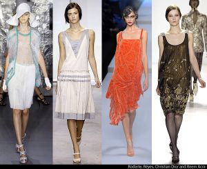 1920 and 1930 Dresses