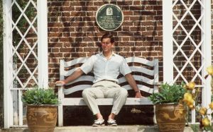 Prince Charles and his garden at Highgrove - garden bench.jpg