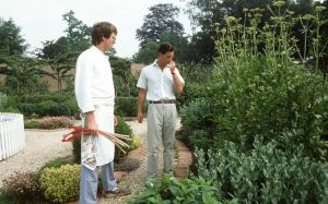 Prince Charles and his garden at Highgrove in the vegetable garden.jpg