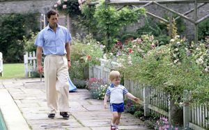 Prince Charles and his garden at Highgrove with Prince Harry.jpg
