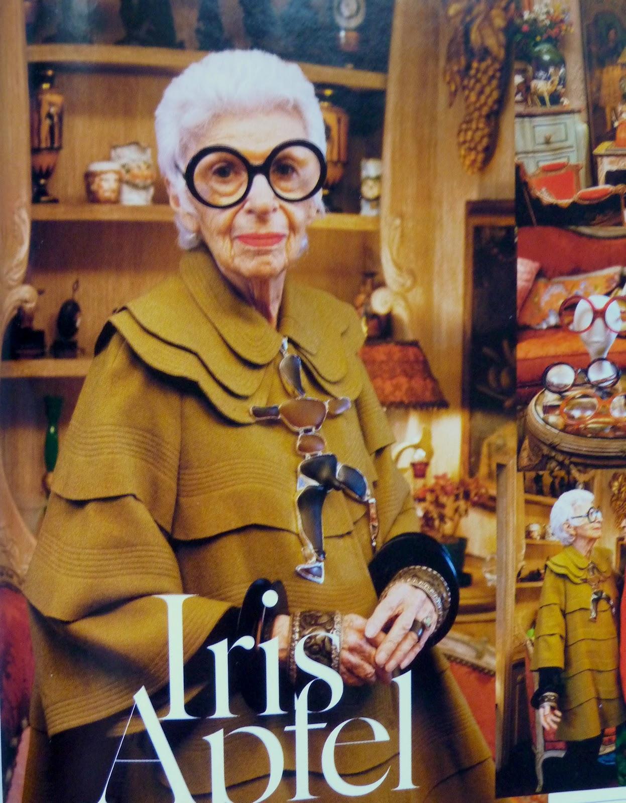 Style Icon Yasmin Sewell: STYLE ICON: Iris Apfel