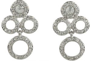 Kate Spade New York - Delicate Dots Chandelier Earrings  - Clear Silver.jpeg