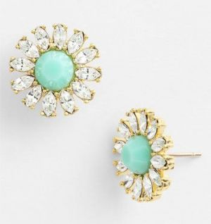 Kate Spade New York - Estate Garden Studs - Clear Mint.jpg