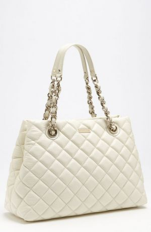 Kate Spade New York - Gold Coast Maryanne - Clotted Cream quilted bag.jpg