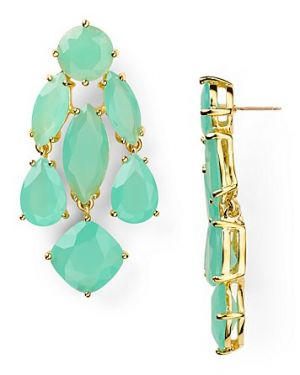 Kate Spade New York - Kate Spade Statement Earrings Mint - Jewelry.jpg