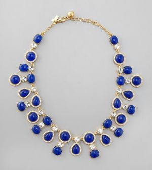 Kate Spade New York - Moonlit Way Collar Necklace - Royal Clear - Jewelry.jpg