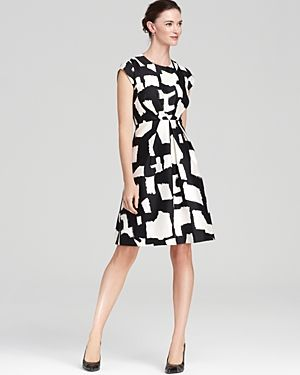 kate spade new york Jane Dress - black and white print.jpg