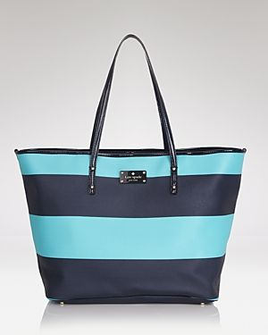 kate spade new york Tote - Boutique Harmony Striped - turquoise stripe bag.jpg