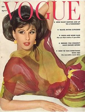 Vintage Vogue magazine covers - mylusciouslife.com - Vintage Vogue April 1962 _-_Tamara_von_Leichtenst.jpg