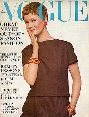 Vintage Vogue magazine covers - mylusciouslife.com - Vintage Vogue April 1967 - Celia Hammond.jpg