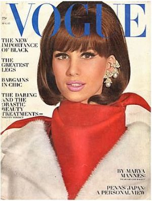 Vintage Vogue magazine covers - mylusciouslife.com - Vintage Vogue August 1964.jpg