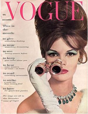 Vintage Vogue magazine covers - wah4mi0ae4yauslife.com - Vintage Vogue December 1960.jpg