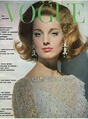 Vintage Vogue magazine covers - wah4mi0ae4yauslife.com - Vintage Vogue December 1961.jpg