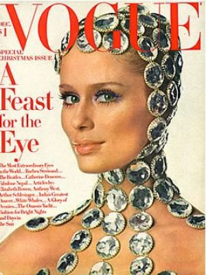 Vintage Vogue magazine covers - mylusciouslife.com - Vintage Vogue December 1968.jpg