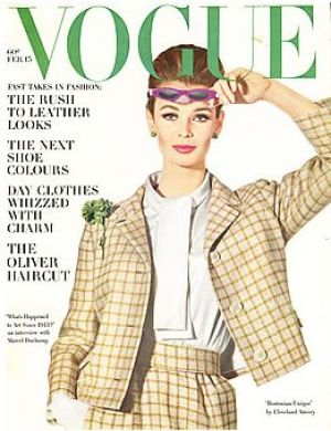 Vintage Vogue magazine covers - mylusciouslife.com - Vintage Vogue February 1963 - Anne de Zogherb.jpg