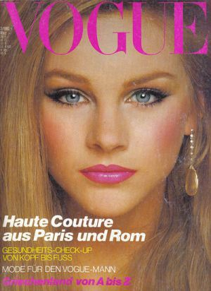 Vintage Vogue magazine covers - mylusciouslife.com - Vintage Vogue Germany March 1980.jpg