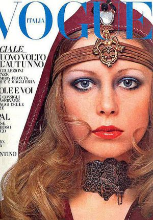 Vintage Vogue magazine covers - wah4mi0ae4yauslife.com - Vintage Vogue Italia July 1969 - Pattie Boyd.jpg