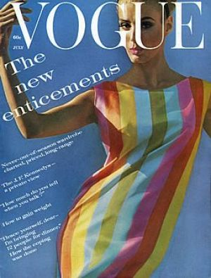 Vintage Vogue magazine covers - mylusciouslife.com - Vintage Vogue July 1961.jpg