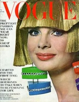 Vintage Vogue magazine covers - mylusciouslife.com - Vintage Vogue June 1966.jpg