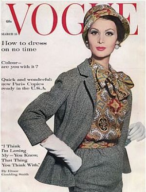 Vintage Vogue magazine covers - mylusciouslife.com - Vintage Vogue March 1961.jpg