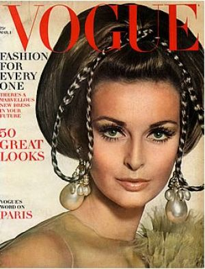 Vintage Vogue magazine covers - mylusciouslife.com - Vintage Vogue March 1967 - Samantha Jones.jpg