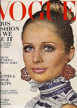 Vintage Vogue magazine covers - mylusciouslife.com - Vintage Vogue March 1968 - Susan Murray.jpg