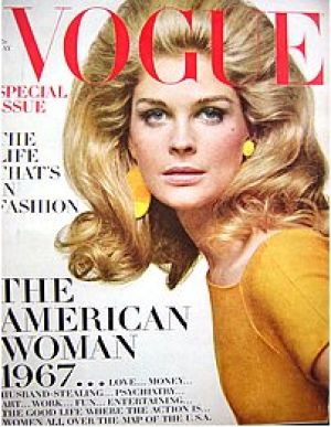 Vintage Vogue magazine covers - wah4mi0ae4yauslife.com - Vintage Vogue May 1967 - Candice Bergen.jpg
