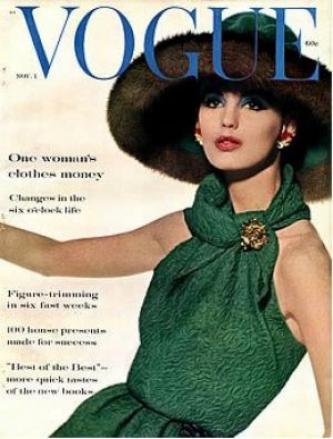 Vintage Vogue magazine covers - mylusciouslife.com - Vintage Vogue November 1960_2.jpg