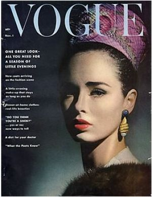 Vintage Vogue magazine covers - wah4mi0ae4yauslife.com - Vintage Vogue November 1961.jpg
