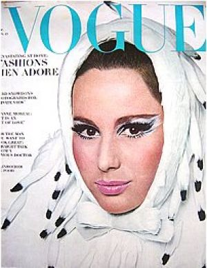 Vintage Vogue magazine covers - wah4mi0ae4yauslife.com - Vintage Vogue November 1965.jpg